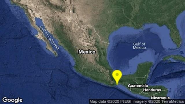 Se registra sismo en Oaxaca y se percibe en Puebla
