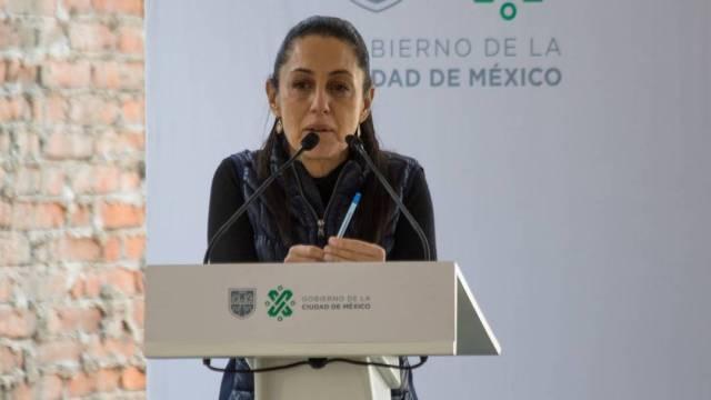 La jefa de Gobierno, Claudia Sheinbaum, supervisó los avances del proyecto de vivienda Ciudad Perdida Tacubaya