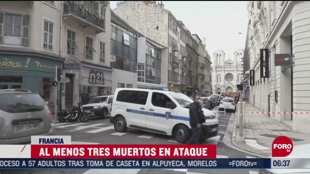 terrorismo vuelve a poner en alarma a francia tras ataque en niza