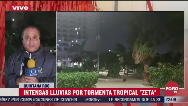 tormenta tropical zeta avanza lentamente por quintana roo