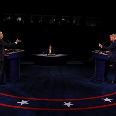 Así fue el último debate presidencial entre Donald Trump y Joe Biden