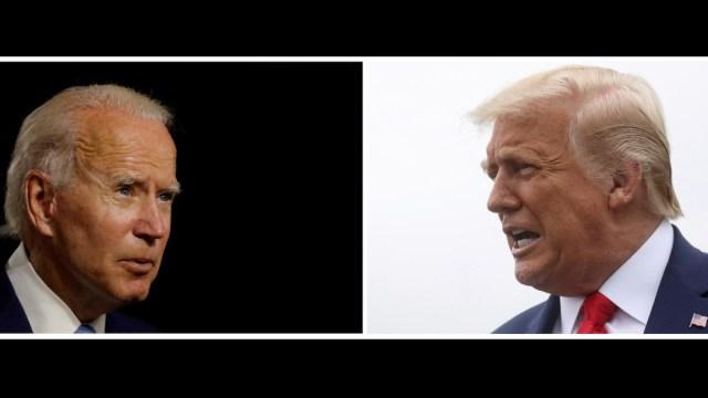 Apagarán micrófonos de Trump y Biden durante partes del próximo debate