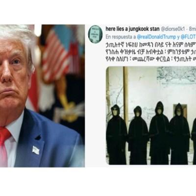 Trump confirma positivo a COVID-19 y le dejan perturbadores mensajes en redes sociales