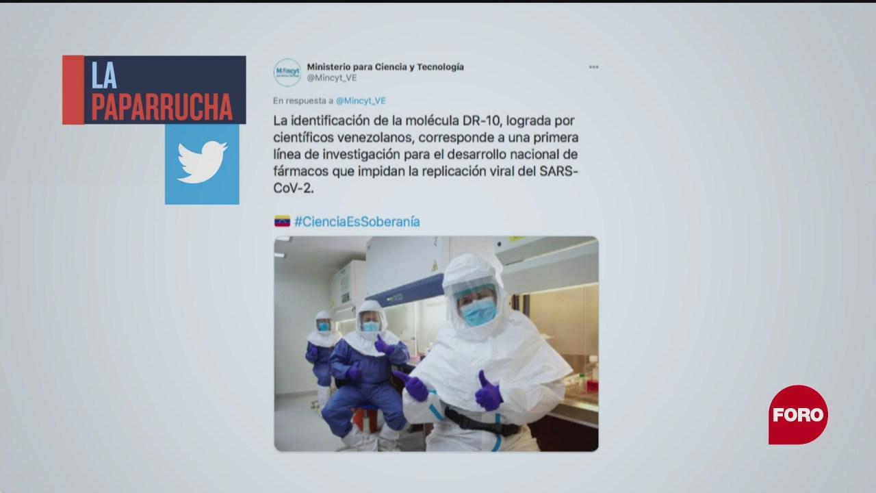 Venezuela desarrolla medicamento contra COVID-19, la paparrucha del día