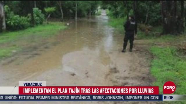 veracruz activa operativos de apoyo por lluvias