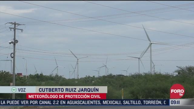 viento frio y lluvia afectan regiones de oaxaca