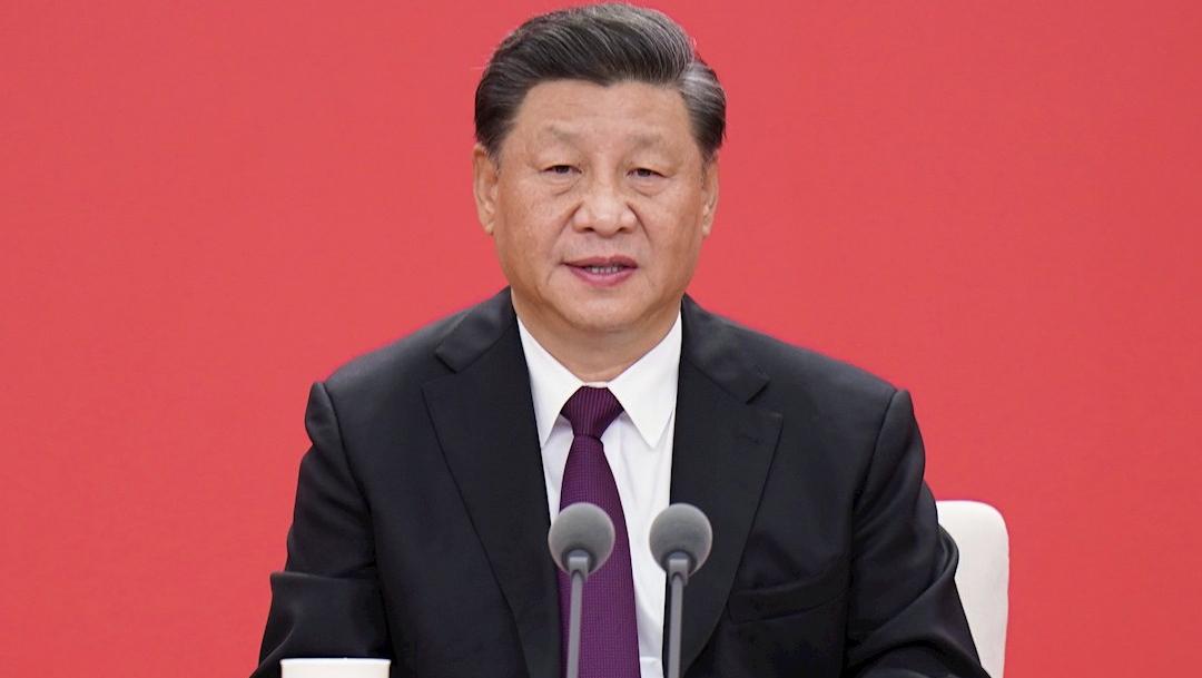 El presidente de China durante un discurso para conmemorar el 40º aniversario de la denominación de Zona Económica Especial de la metrópolis