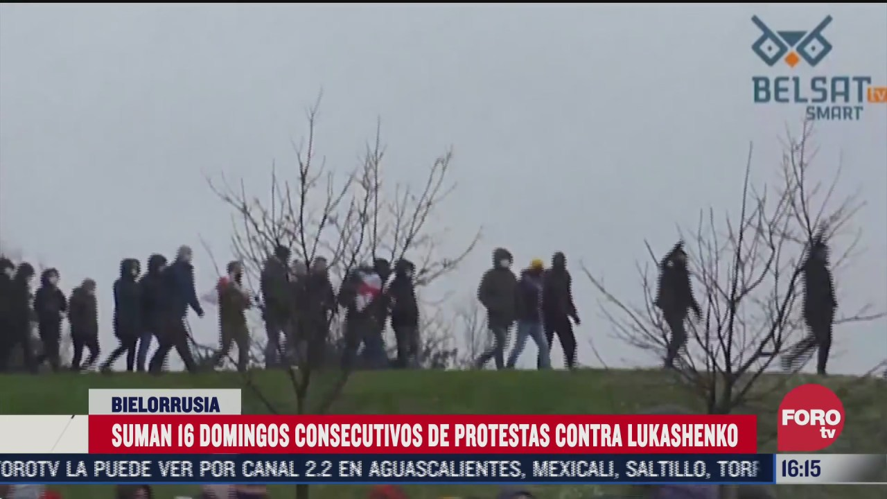 140 manifestantes detenidos en protestas contra lukashenko