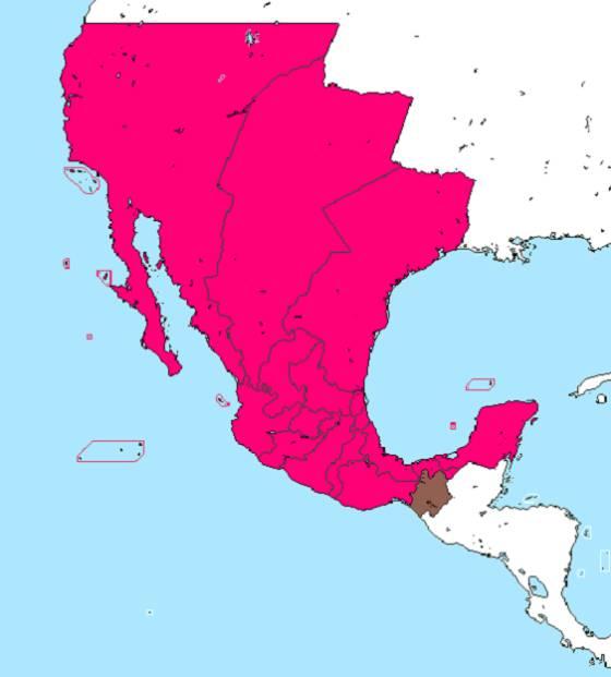 Los mapas que reflejan los cambios México en dos siglos