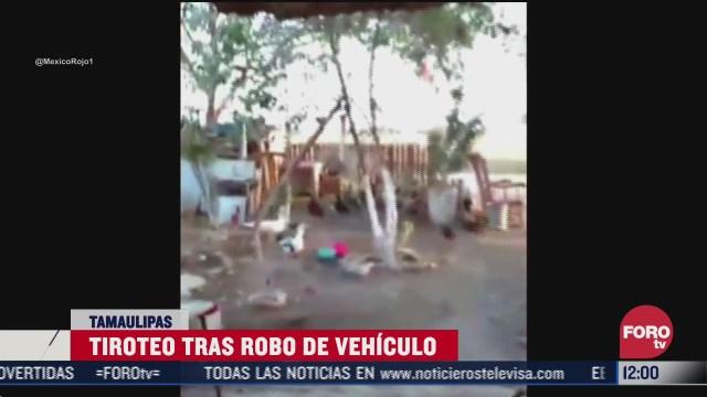 abaten a tres delincuentes en tamaulipas