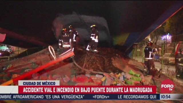 accidente deja de tres muertos y tres lesionados en periferico cdmx