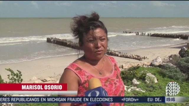 alertan por erosion costera en yucatan