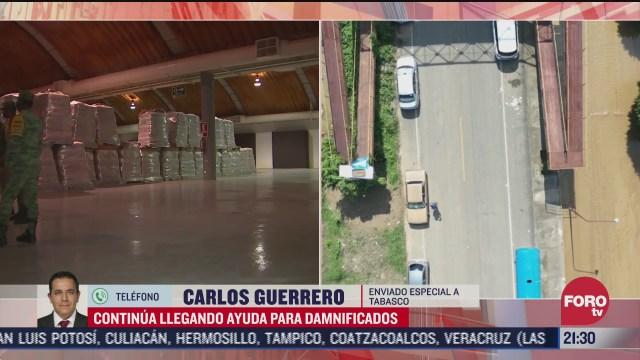 anuncian ayuda prioritaria para cuatro municipios de tabasco afectados por inundaciones