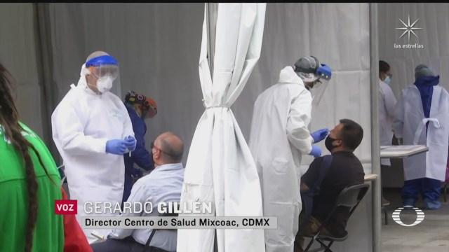 arrancan las pruebas rapidas en los macro kioscos de la cdmx