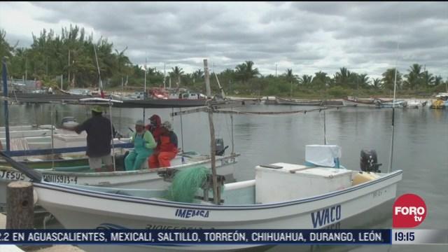 Remanente de frente frío afectan a Yucatán y Quintana Roo