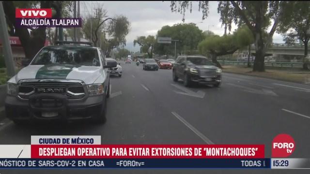 autoridades realizan operativos contra montachoques