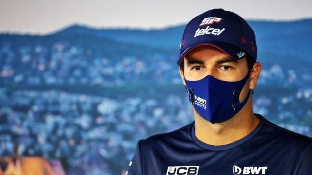 Checo Pérez, piloto mexicano