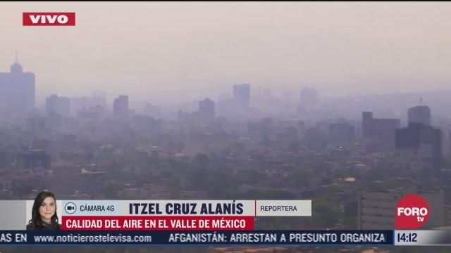 ciudad de mexico con mala calidad del aire