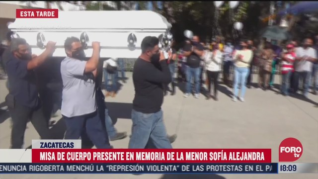 dan ultimo adios a sofia alejandra victima de feminicidio en zacatecas
