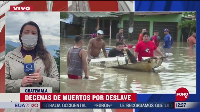decenas de muertos por deslave en guatemala