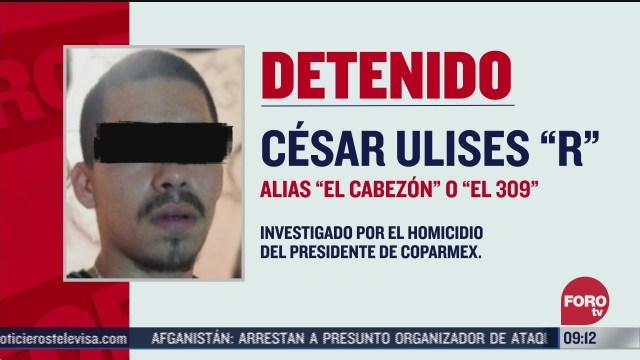 detienen a cesar ulises r por homicidio del presidente de coparmex en parral