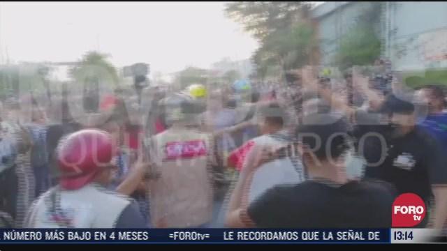 detienen a hombre que violento a mujeres durante marcha feminista en cancun