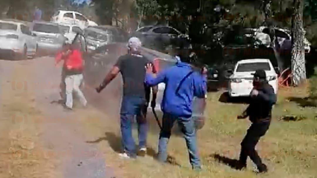 Enfrentamiento de la CNTE en Paracho, deja 15 heridos