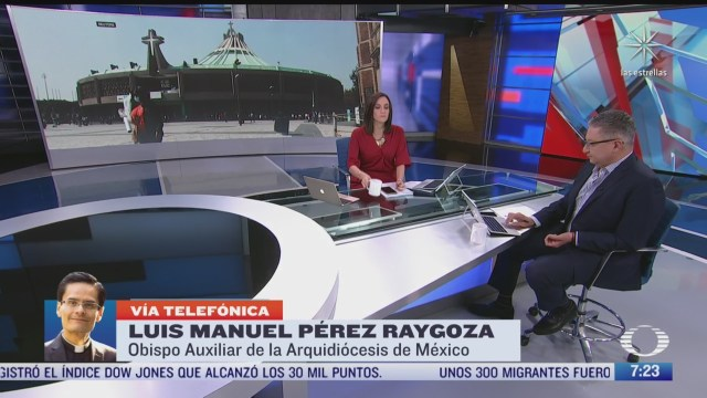 entrevista a monsenor luis manuel perez raygoza obispo auxiliar de la arquidiocesis de mexico para despierta