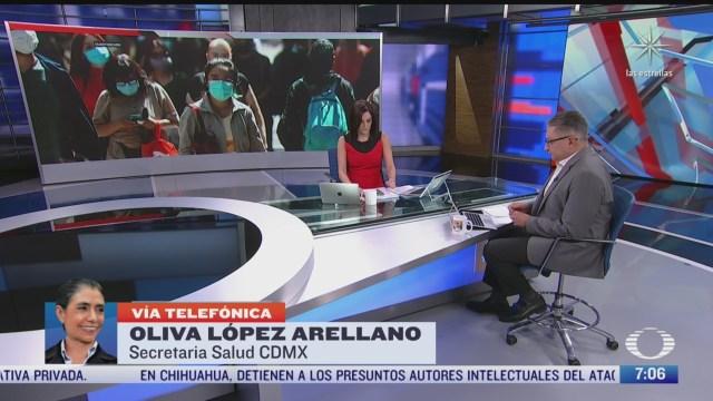 entrevista con oliva lopez arellano secretaria de salud de la cdmx para despierta