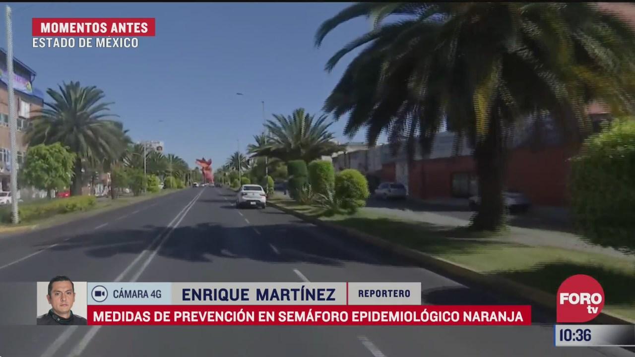 estado de mexico continua en semaforo naranja por covid