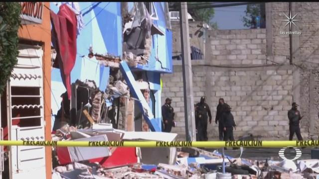 explosion en restaurante de pizzas en azcapotzalco deja 13 viviendas danadas