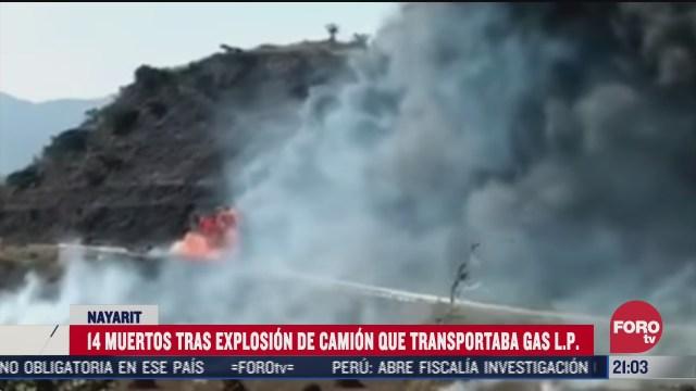 explota pipa con gas en nayarit al menos 14 muertos