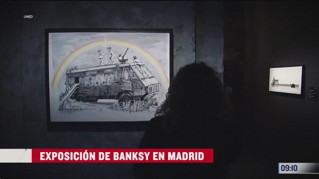 exposicion de banksy en madrid espana