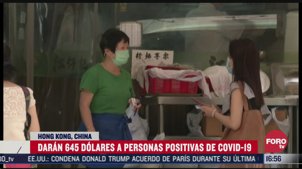 hong kong dara 645 dolares a residentes con covid