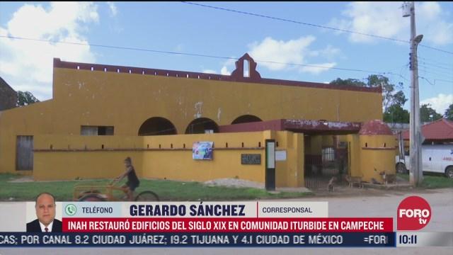 inah recupera reducto militar durante restauracion de edificio del siglo ixx en campeche