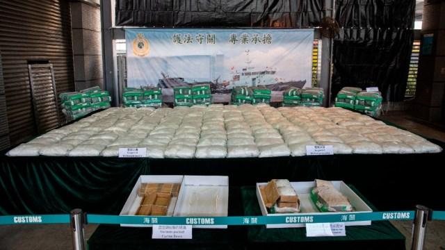 Incautan metanfetaminas en Hong Kong