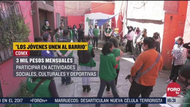 los jovenes unen al barrio programa de la cdmx