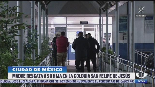 madre rescata a su hija de un presunto secuestro en la cdmx