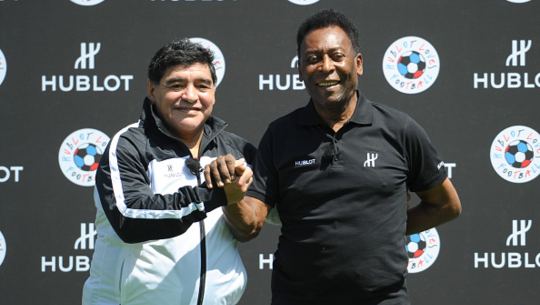 Pelé se despide de Maradona: 'Espero que juguemos juntos en el cielo'