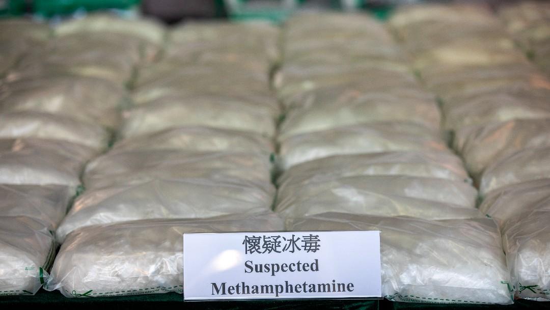 Metanfetaminas incautadas en Hong Kong