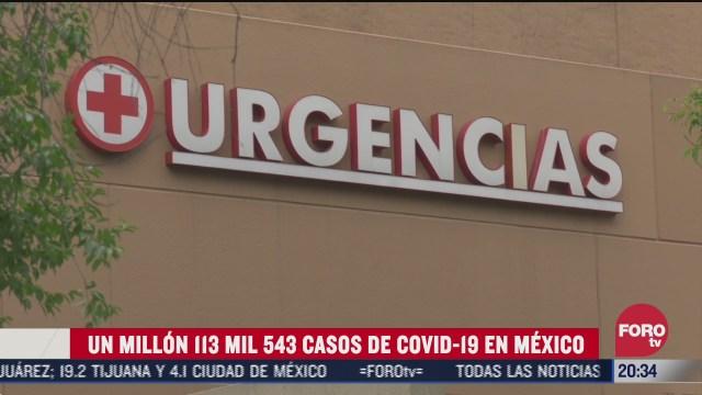 mexico alcanza las 105 mil 940 muertes por covid