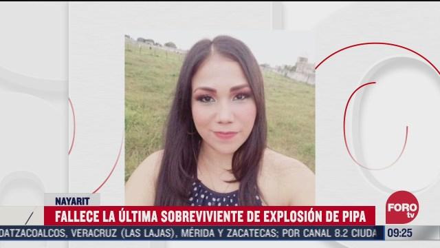 muere sobreviviente de la explosion de pipa en autopista tepic guadalajara