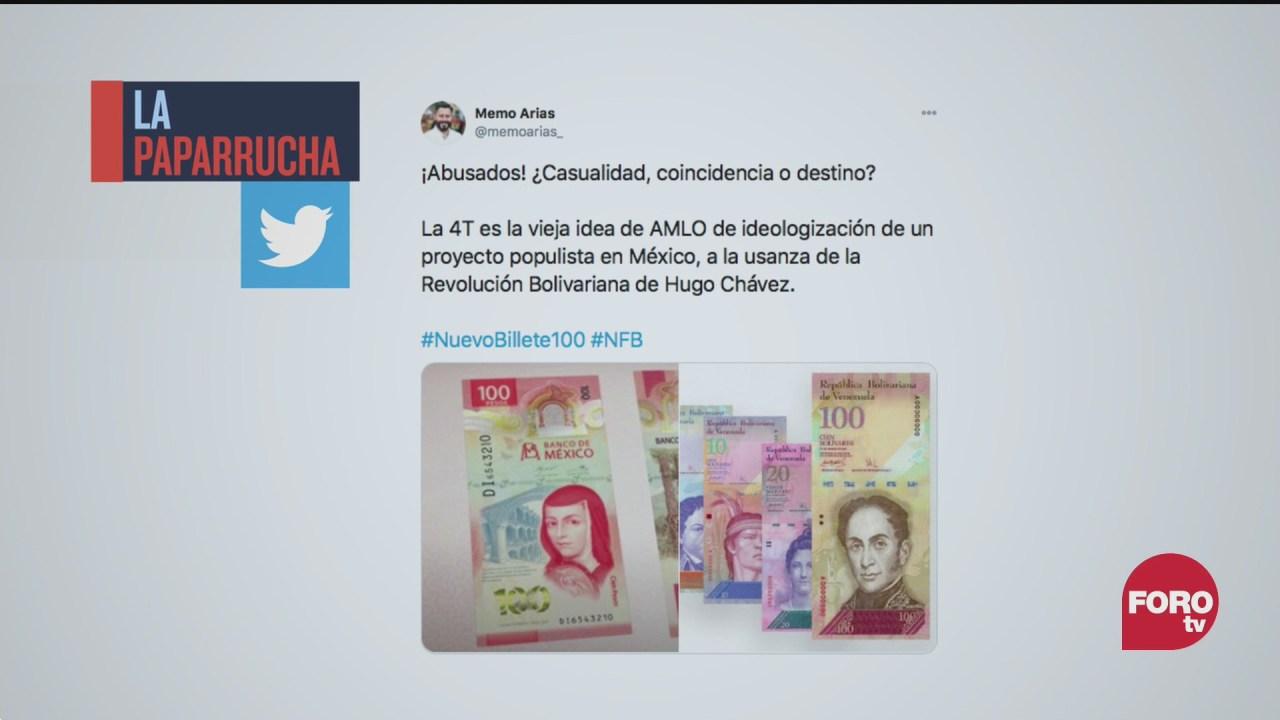 nuevo billete de 100 pesos proyecto de amlo para instaurar socialismo en mexico la paparrucha del dia