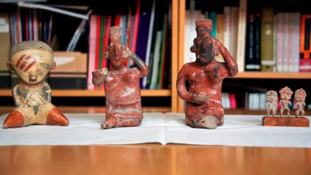 Piezas arqueológicas devueltas por Australia