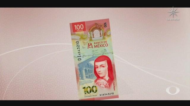 presentan nuevo billete de 100 pesos tendra el doble de duracion que el actual