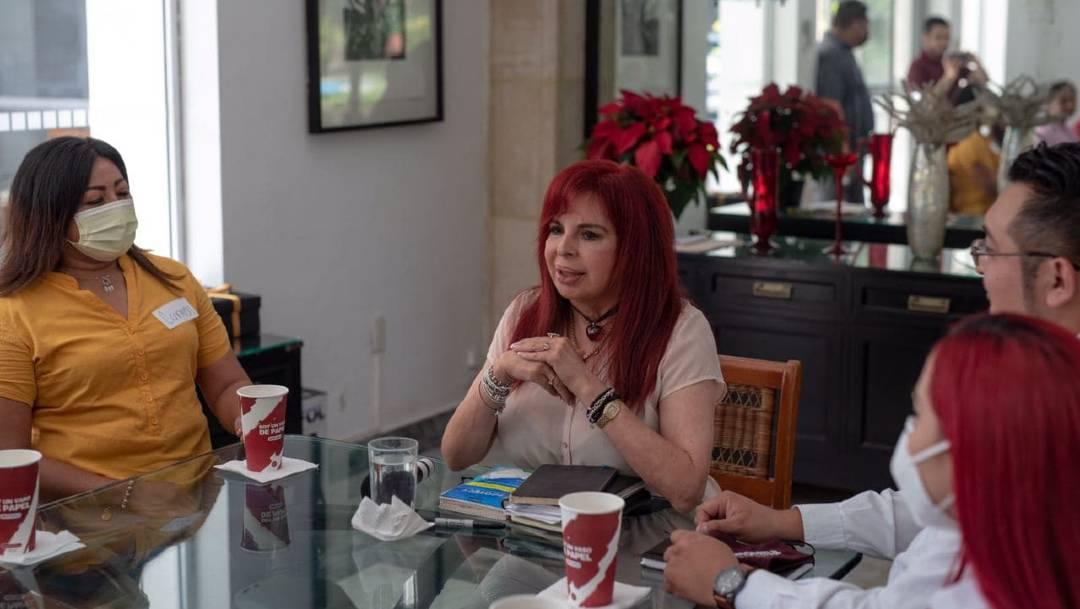 La alcaldesa de Álvaro Obregón, Layda Sansores, anunció que buscará la gubernatura de Campeche