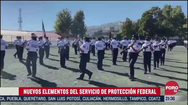 se graduan 428 cadetes del servicio de proteccion federal