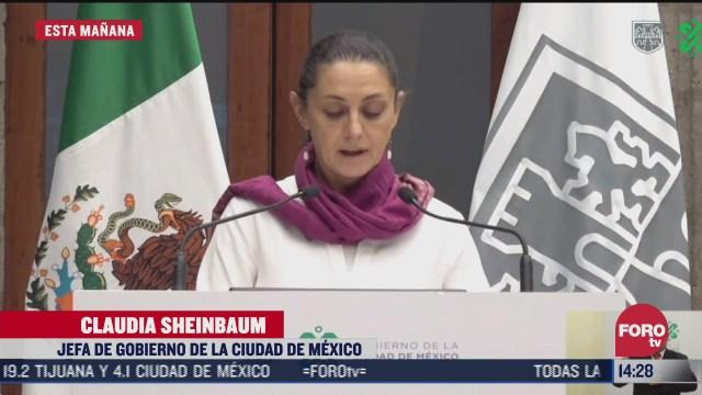 sheinbaum presenta informe por violencia contra mujeres