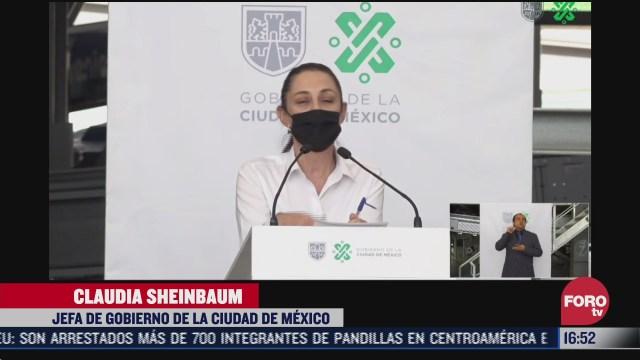 sheinbaum supervisa planta de basura en azcapotzalco