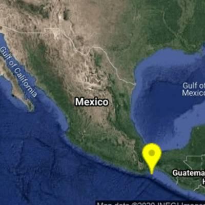 El Servicio Sismológico Nacional reportó un sismo magnitud 4.4 en Oaxaca